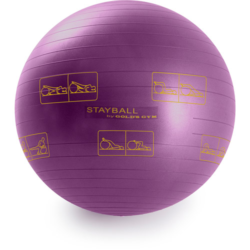 Gold's Gym 55 cm Exercise Stay Ball
