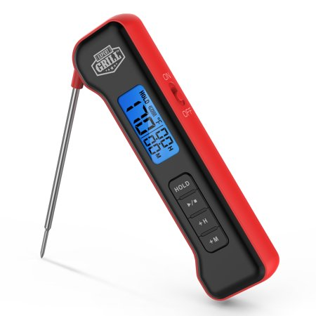 Expert Grill Pocket Digital Instant Read Meat Grilling Thermometer