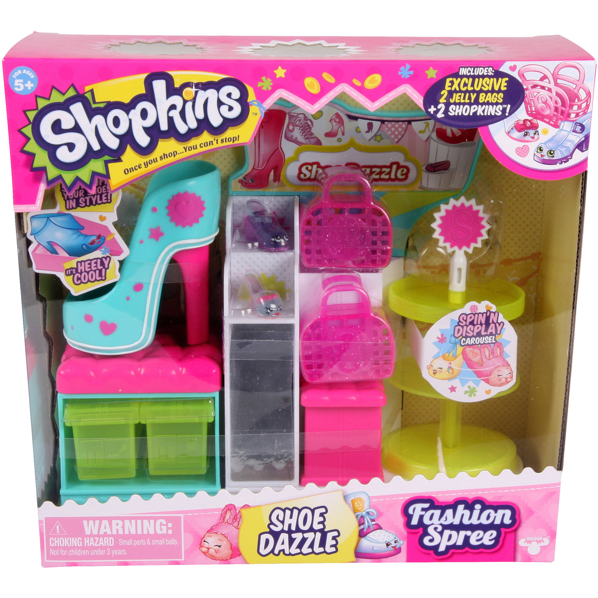 Shopkins Playsets, Shoe Dazzle Shoe Stand