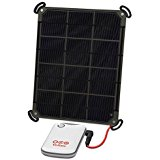 Voltaic Systems 6W Solar Panel Kit with External Battery Pack (4,000mAh) _ CHARCOAL
