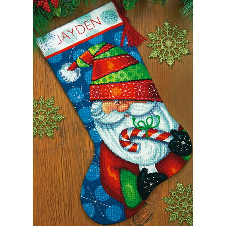 Dimensions Sweet Santa Stocking Needlepoint Kit 16