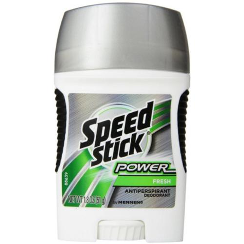 Speed Stick by Mennen Antiperspirant/Deodorant, Fresh Scent 1.8 oz (Pack of 2)