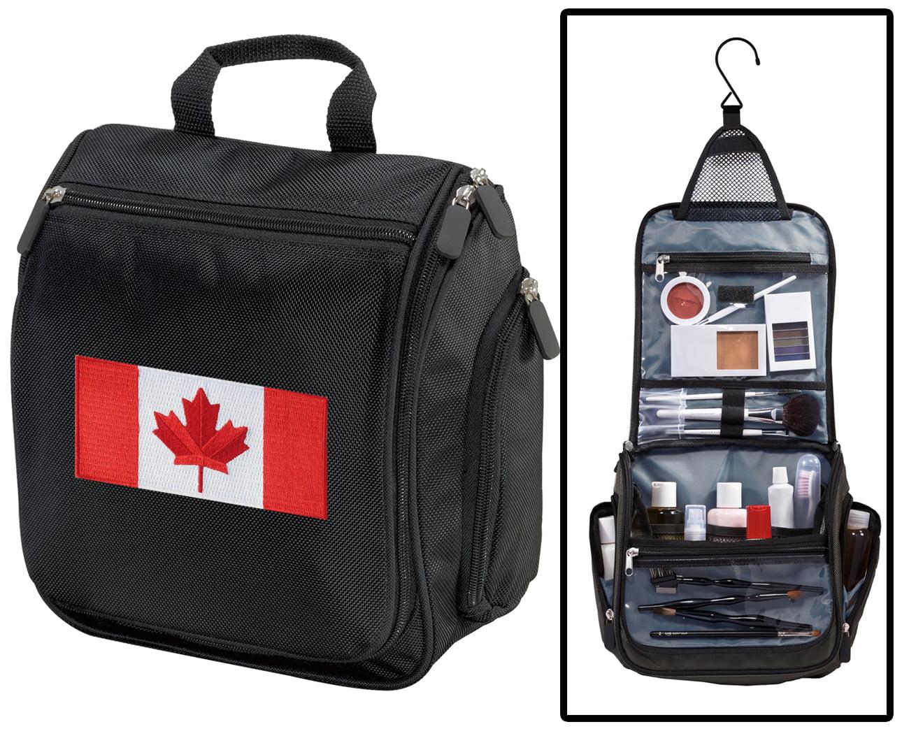 Canadian Flag Toiletry Bag or Canada Flag Shaving Kit