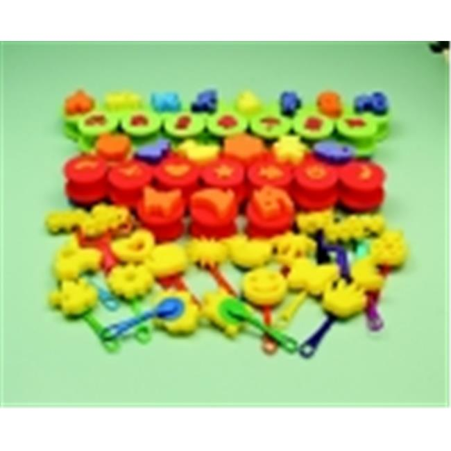 Sax Washable Preschool Foam Design Kit Multiple Color, Pack 49 by Sax
