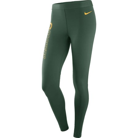 Green Bay Packers Nike Women's Pro Leggings - Green