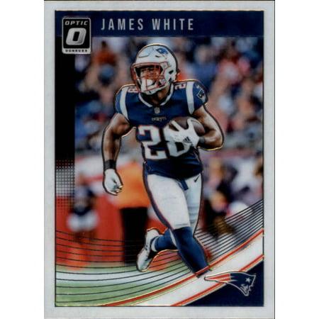 2018 Donruss Optic #66 James White New England Patriots Football Card ()