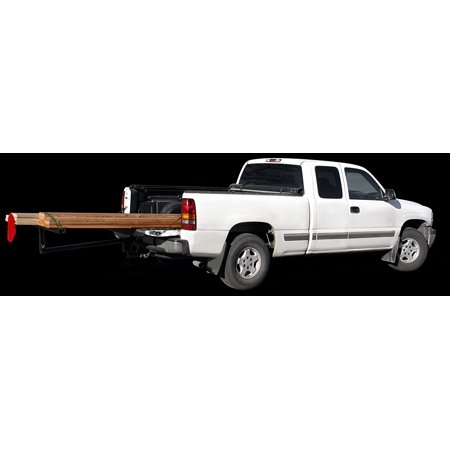 Bed Extender Ramp (2 in 1 Truck Bed Extender Roof Top Haul Kayak Canoe Long Load Lumber Ladder 2 Hitch SUV)