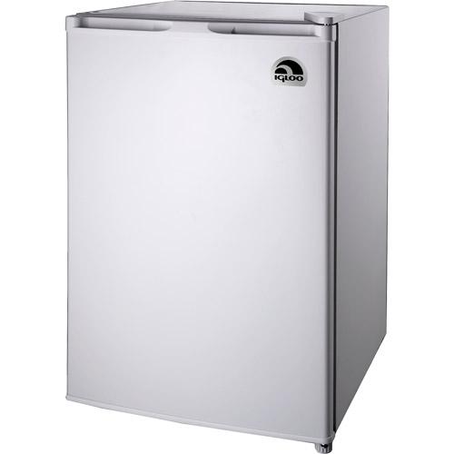 refrigerator and freezer. igloo 4.5 cu ft refrigerator and freezer l