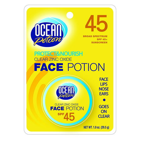 Ocean Potion 00088 Face Potion Clear Zinc SPF 45