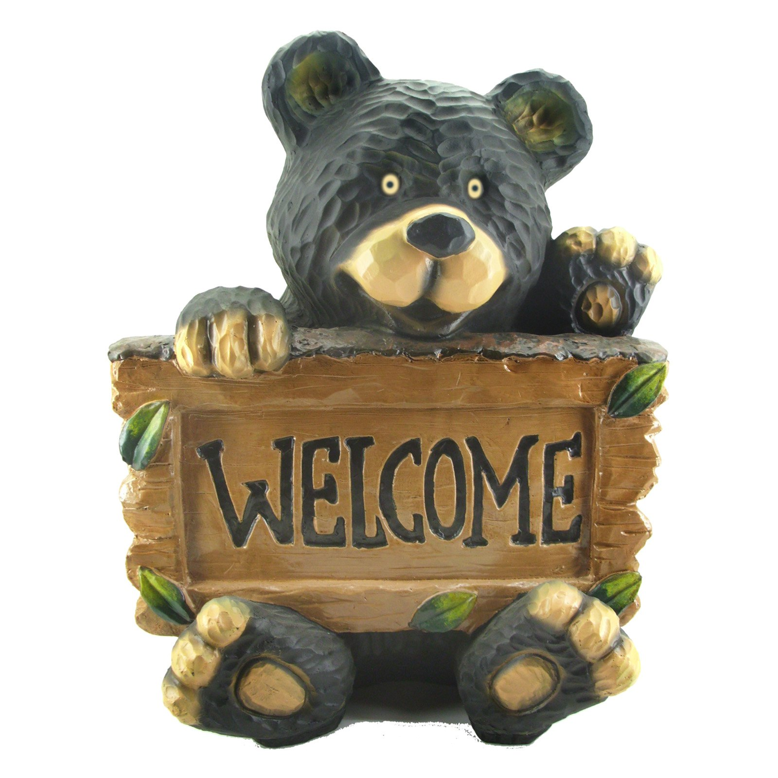 Elegant Beckett Welcome Bear Garden Statue