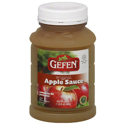 Gefen Apple Sauce, 24 oz (Pack of 12)