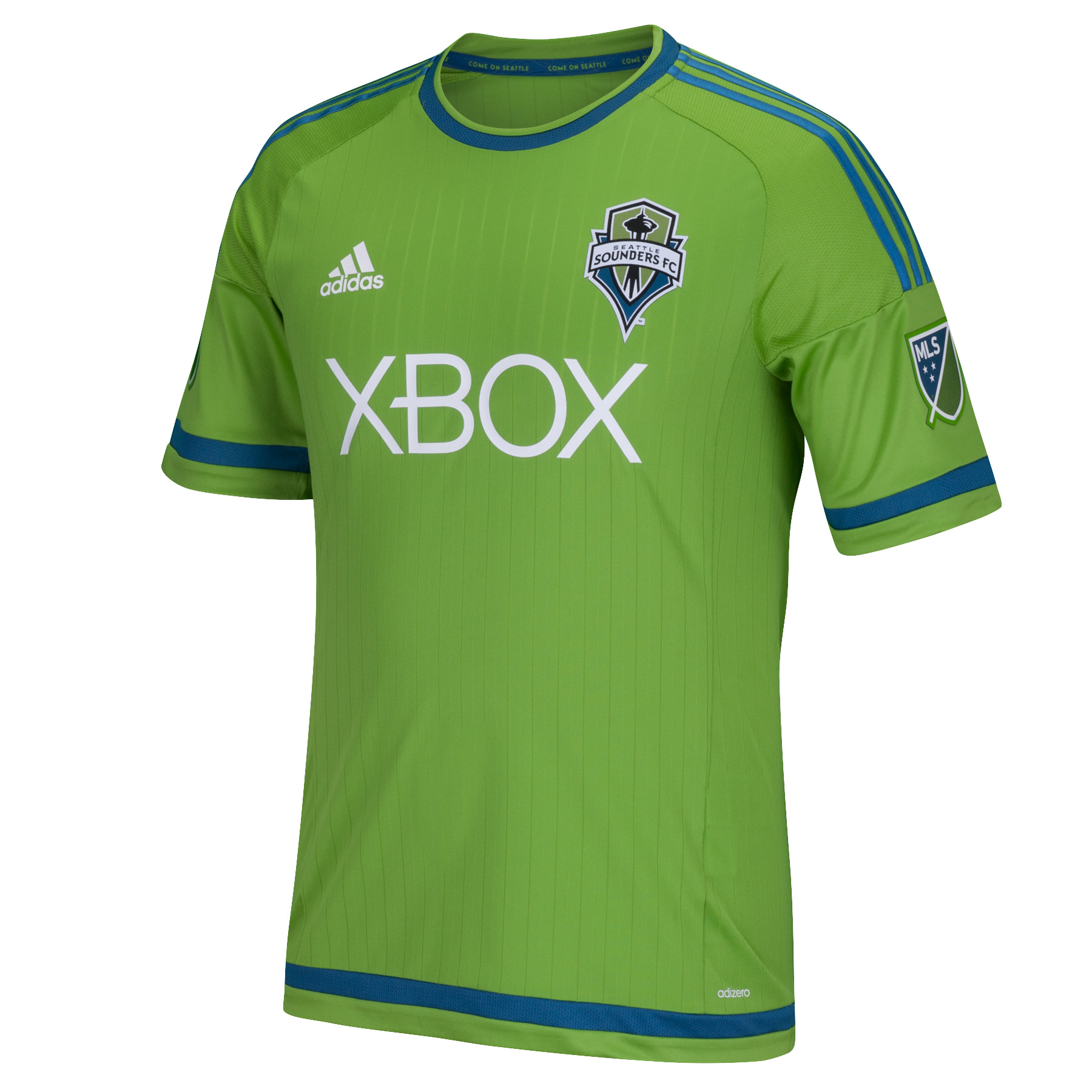 Adidas Seattle Sounders Primary Authentic Jersey (Green)