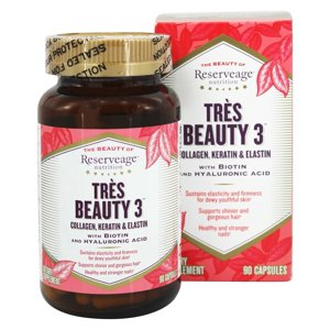 Reserveage Nutrition - Très Beauty 3 - 90 Vegetarian Capsules