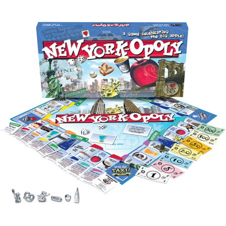 Late for the Sky New York-opoly Game](Games For 12 And Up)