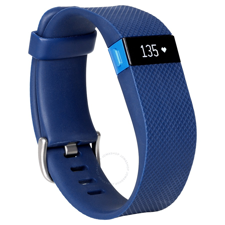 Fitbit Charge HR Activity and Heart Rate Tracker (Small)- Blue