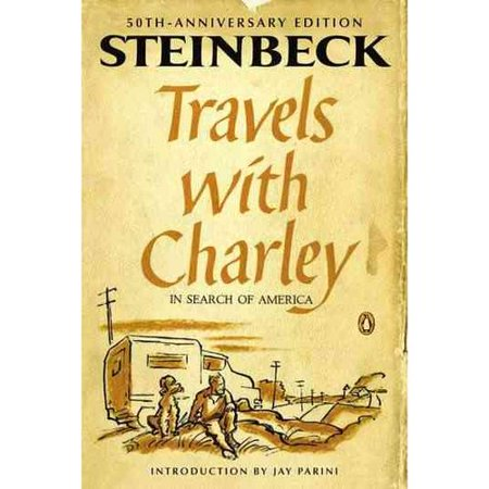 travels with charley essay questions Travels with charley by john steinbeck in three pages this 1961 work chronicling steinbeck's travels across america with his dog charley is summarized and discussed.