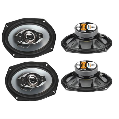 "4)  SOUNDSTORM SSL GS569 6x9"" 1200W 5-Way Car Audio Speakers Coaxial Stereo"