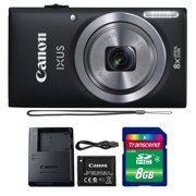Canon Powershot Ixus 185 / ELPH 180 20MP Compact Digital Camera Black with 8GB Memory Card - Best Reviews Guide