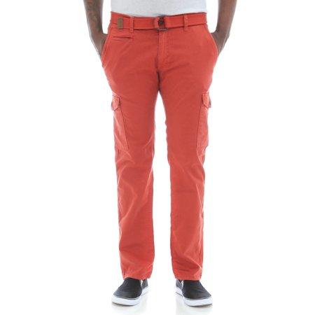 Jordan Craig Men's Slim Fit Stretch Twill Belted Cargo (Best Pants For Jordans)