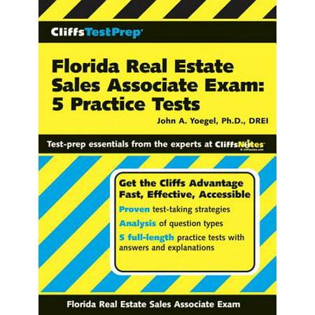 CliffsTestPrep Florida Real Estate Sales Associate Exam: 5 Practice (Florida Real Estate Sales Associate Practice Exam)