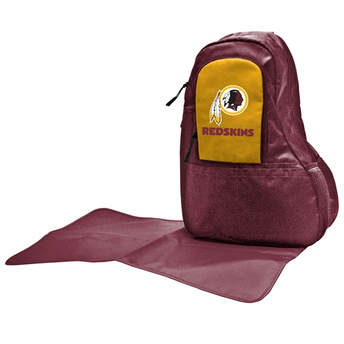 NFL Diaper Bag by Lil Fan, Sling Style - Washington Redskins