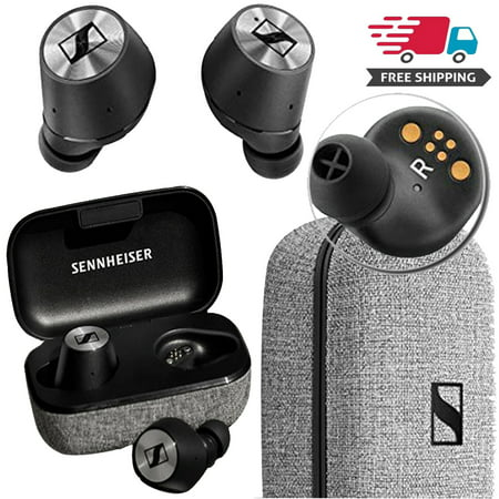 Sennheiser Momentum True Wireless BT Earbuds with Fingertip Touch Control Sennheiser Silver Hd Headphone