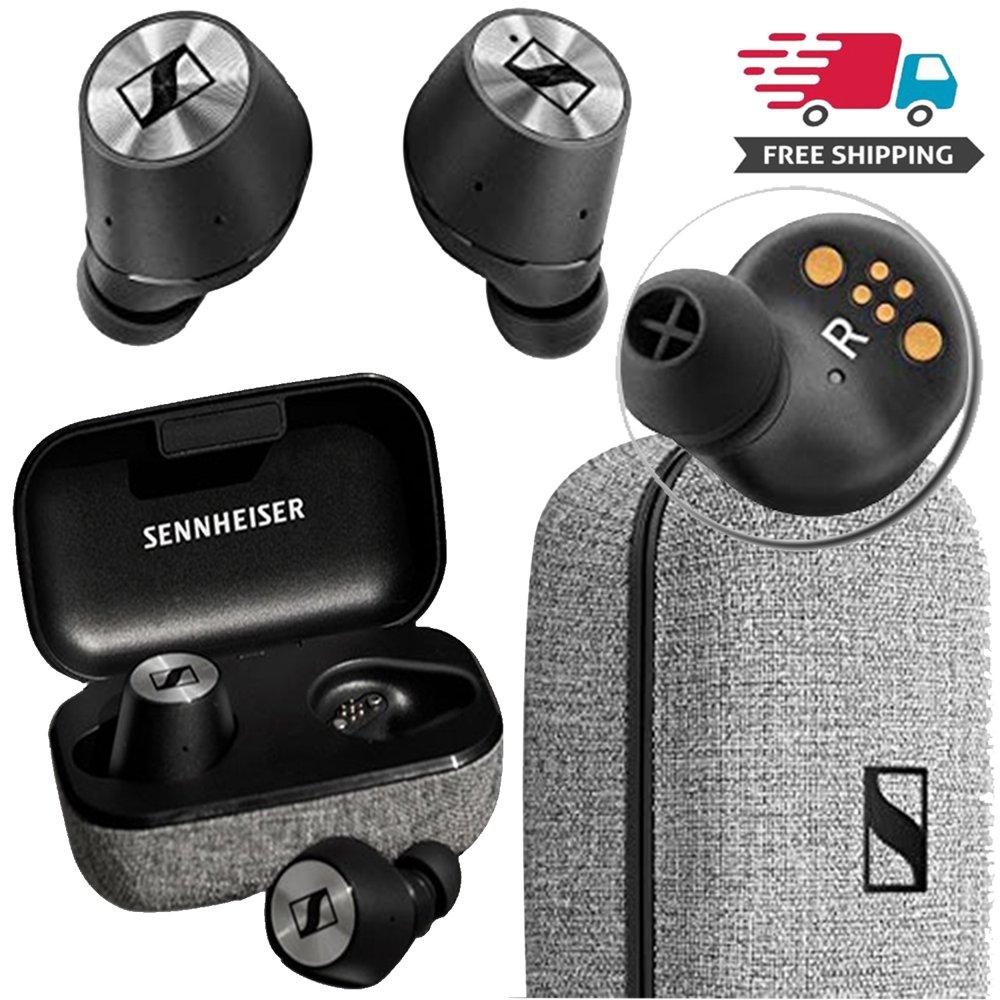 Sennheiser Momentum True Wireless BT Earbuds with Fingertip Touch Control