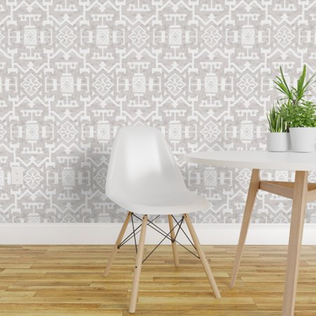 Peel and Stick Removable Wallpaper Kilim Ethnic Mud Cloth Modern Marra