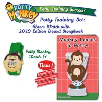 Potty Monkey Watch and Potty Monkey Book