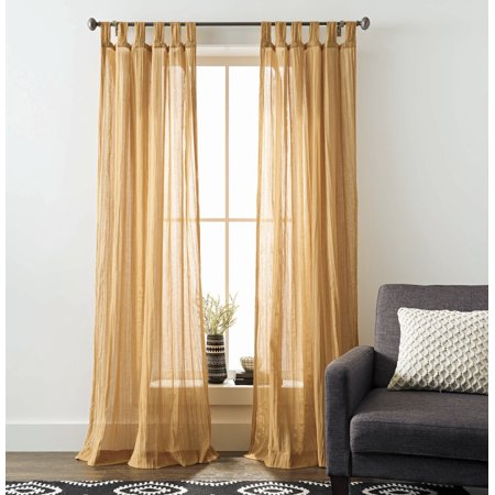 Better Homes and Gardens Arusha Tab Top Window Curtain ()