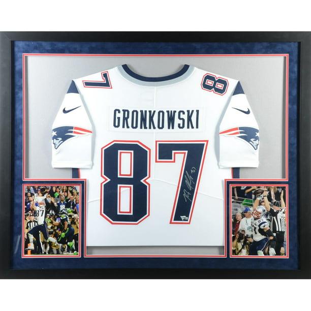 gronkowski framed jersey