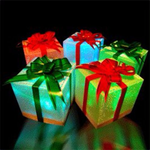 Color Changing Gift Box by