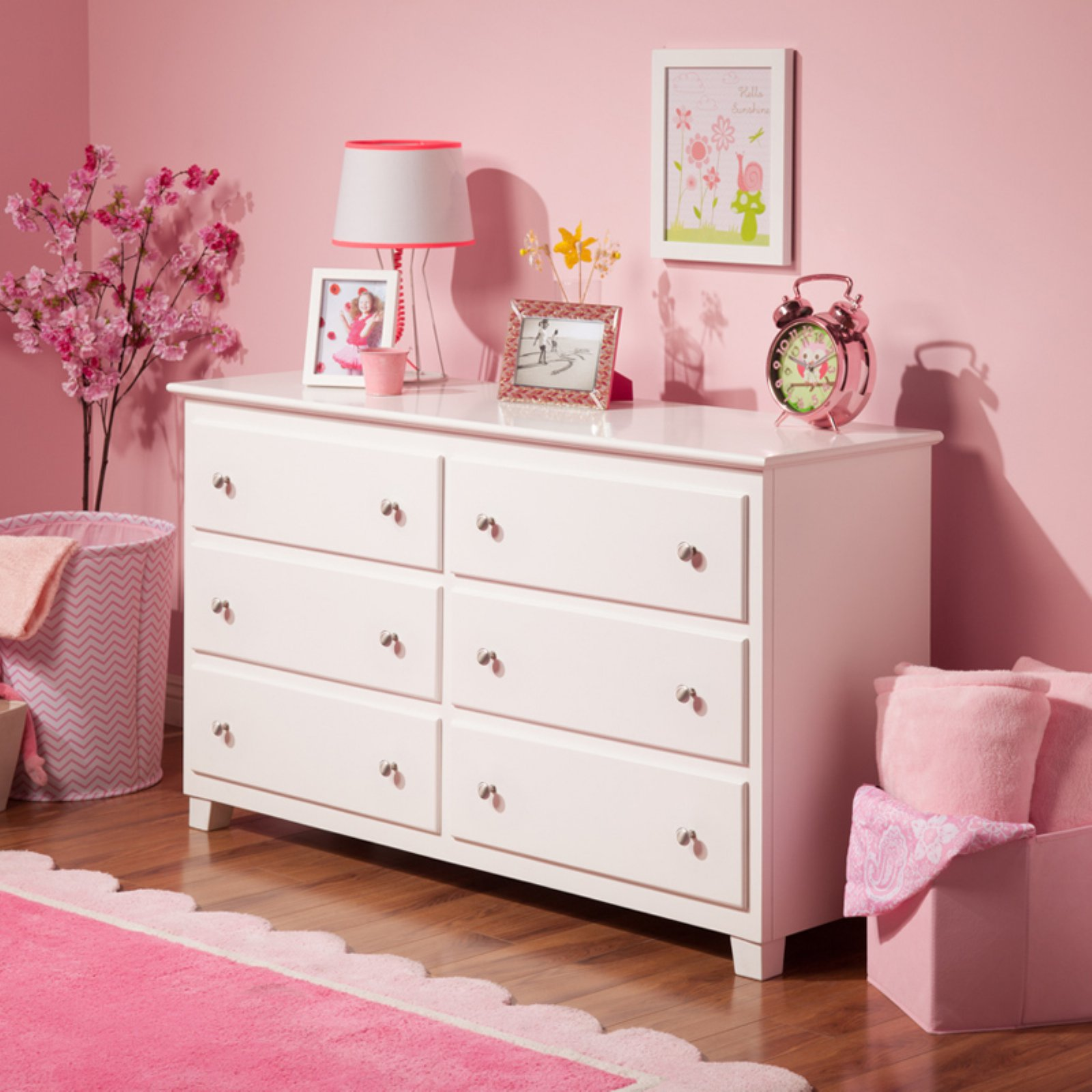 Atlantic 6 Drawer Dresser