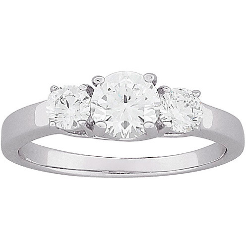 2 carat t g w 3 cz engagement ring in