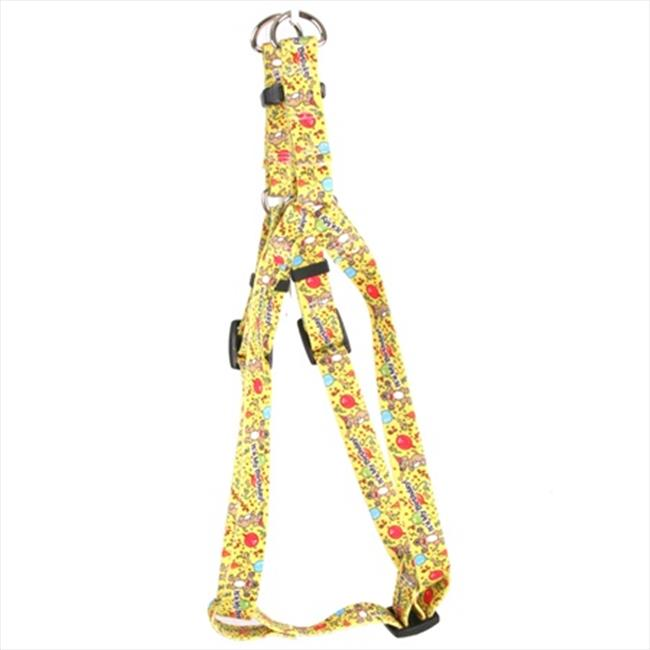 Yellow Dog Design SI-HB103L Happy Birthday Step-In Harness - Large