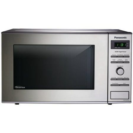 Panasonic Compact Inverter 0.8-cu ft Microwave, Stainless Steel