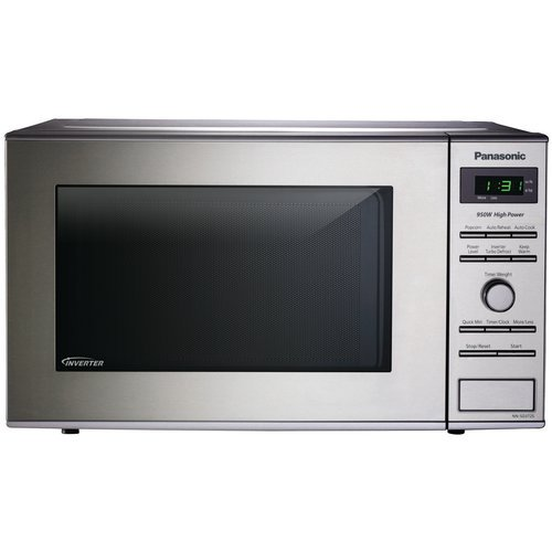 Panasonic Compact Inverter 0 8 Cu Ft Microwave Stainless Steel