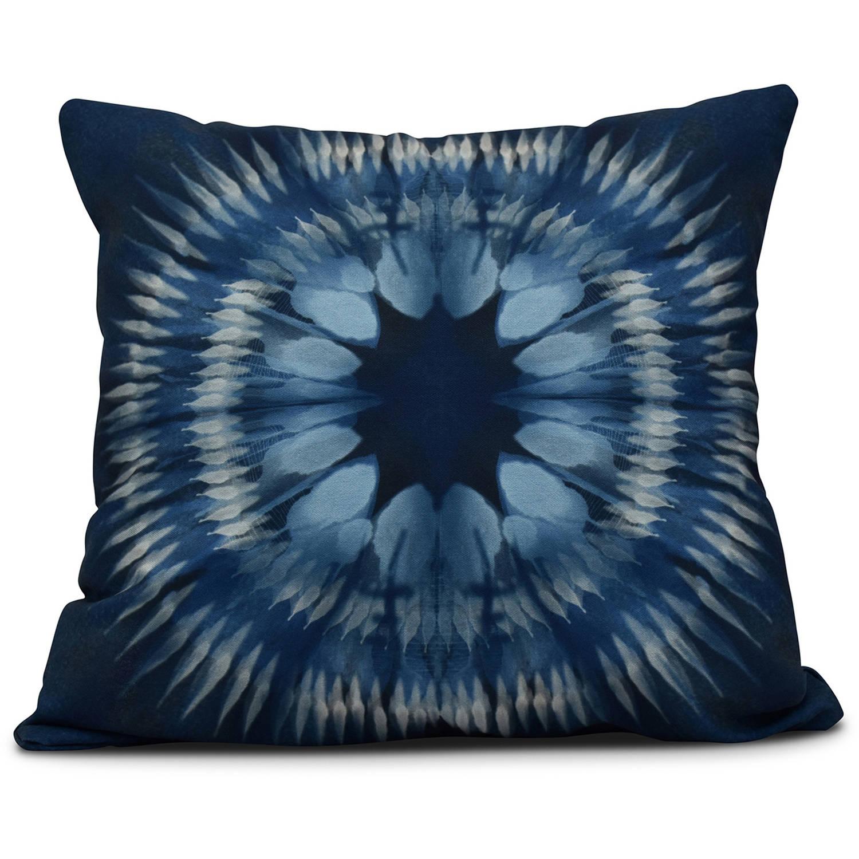 "Simply Daisy 16"" x 16"" Shibori Burst Geometric Print Pillow"