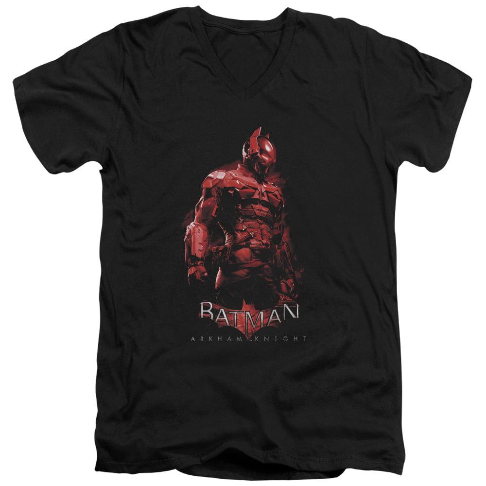 Batman Arkham Knight Knight Mens V-Neck Shirt by Trevco