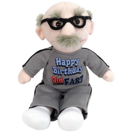 Chantilly Lane 9 Old Fart Sing Happy Birthday Plush by Chantilly Lane - Singing Happy Birthday