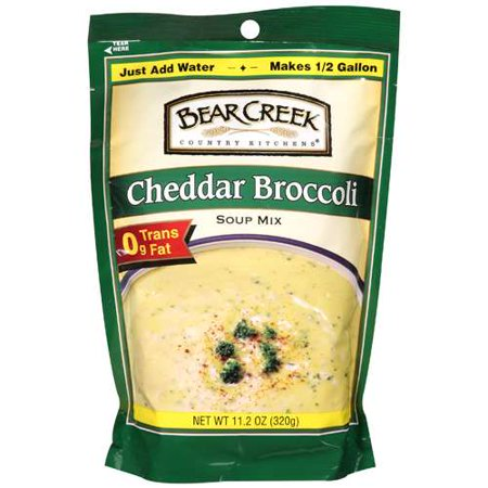 (2 Pack) Bear Creek Country Kitchens® Cheddar Broccoli Soup Mix 11.2 oz.