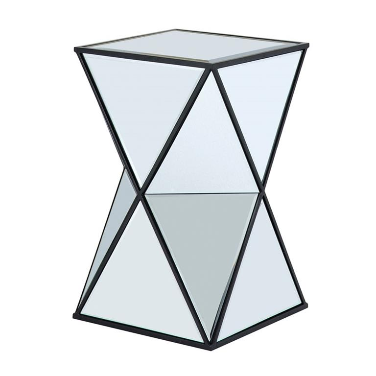 Madison Park Hendrix Angluar Mirror Accent Table