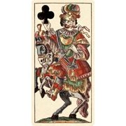 Knight of Clubs Poster Print by Andreas Benedictus Gobl