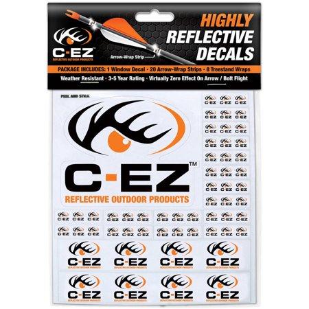 C-EZ Orange Reflective Arrow & Treestand Wraps