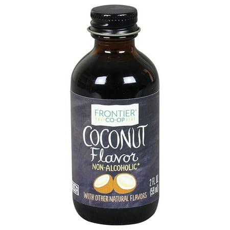 Frontier Coconut Flavor, 2 Ounce Bottle