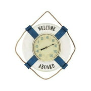 15 in. Outdoor Welcome Aboard Thermometer