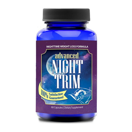 Night Trim PM Weight Loss Aid 30-day Supply (60 (2 Shakes A Day Weight Loss Results)