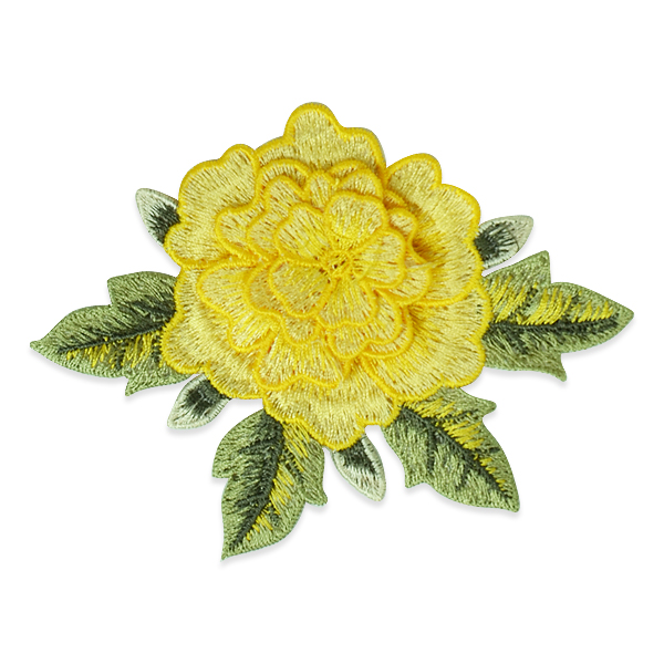 Expo Int'l Mina Layered Embroidered Flower Patch Applique