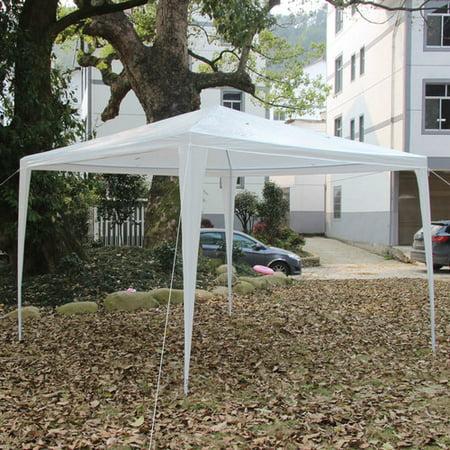 10' x 10' New Party Tent Outdoor Heavy Duty Gazebo Wedding Canopy White VANDERLIFE