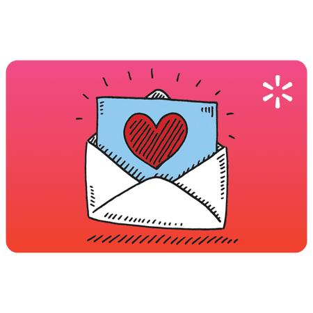 Love Letter Walmart Gift Card